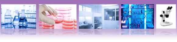 Illustrations de produits de laboratoire